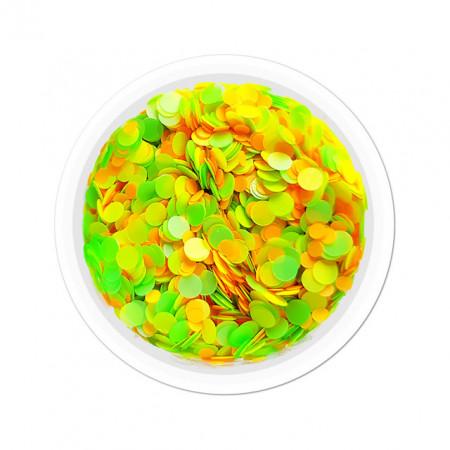 Confetti Unghii Multicolore Cod CU-15, Accesorii Nail Art