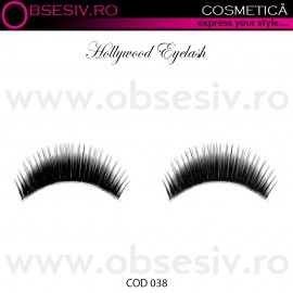 Poze Gene False Banda, Hollywood Eyelash, Cod 038, Gene False Profesionale