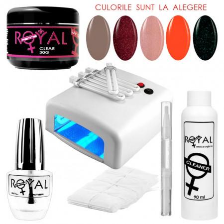 Kit Geluri Color Exclusive Premium Line, 11 Produse