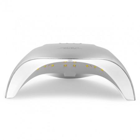 Lampa LED/UV 54 Watt cu Aprindere Automata la Senzor, Studio Line Aurora Silver