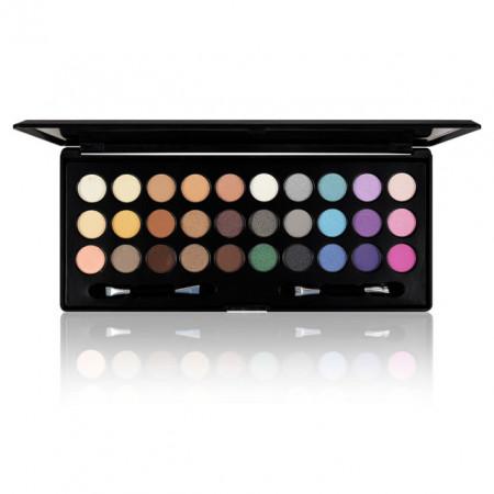 Paleta Machiaj Pleoape 30 Culori si Nuante Diferite, Ushas Colorful Eyeshadow