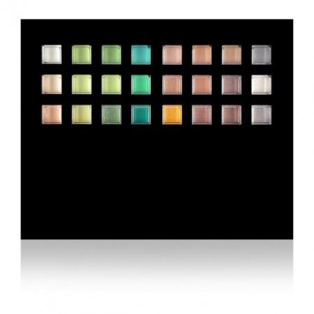 Paleta Machiaj Pleoape Hipoalergenica 96 Culori cu Oglinda si 4 Aplicatoare Eye Shadow