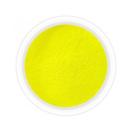 Pigmenti Geluri, Culoare Galben NEON, Pigmenti Colorati Manichiura - Unghii
