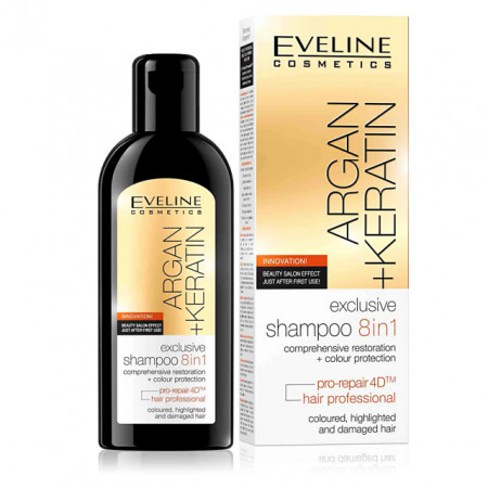Sampon de Par Profesional Exclusiv 8in1 Radical Repair Technology™ Eveline Cosmetics