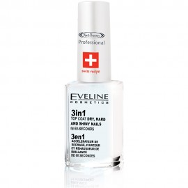 Tratament Unghii 3 in 1 Eveline Cosmetics Dry Hard and Shine Polish in 60 Seconds