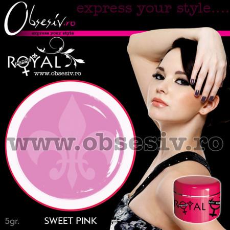 Gel colorat unghii Royal Femme SWEET PINK (Geluri Profesionale Unghii)