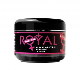 Gel UV French Pink 2 in 1 Royal Femme, Baza si Constructie, 15 ml