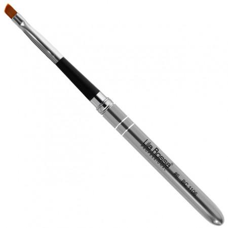 Pensula Gel Unghii One Stroke No 6 cu Capac Brand Lila Rossa
