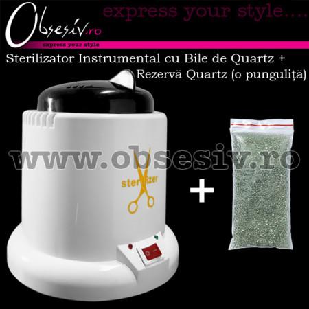 Sterilizator Instrumental Plastic cu Bile de Quartz