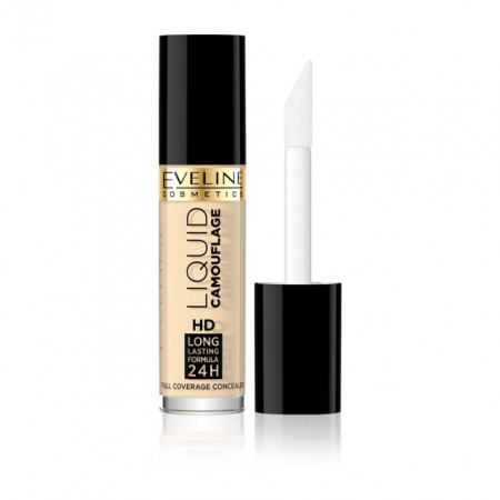Corector Imperfectiuni Ten Concealer Camuflaj Lichid Eveline Cosmetics 01 Light