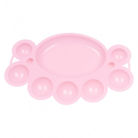 Paletar Culori Acryl, Culoare Roz Pastel