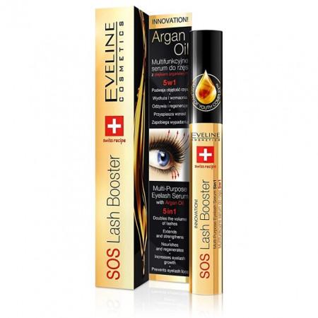 Tratament Cadere si Crestere Gene 5in1 SOS Eveline Cosmetics