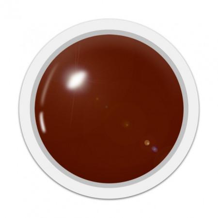 Gel Color Unghii, Exclusive Nails, Cod 138, Culoare MALAGA BROWN, Geluri Colorate Unghii Exclusive Nails