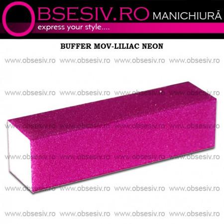 Buffer Unghii Mov- Liliac Neon - 180 Granulaţie