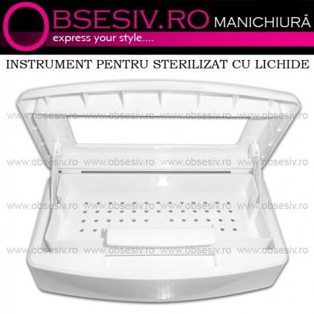 Cutie Sterilizare Instrumente cu Lichid