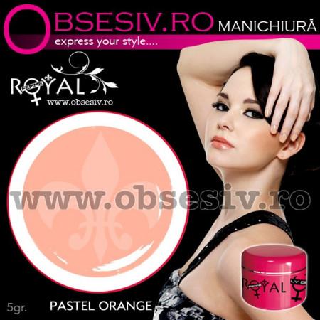 Gel colorat unghii Royal Femme PASTEL ORANGE (Geluri Profesionale Unghii)