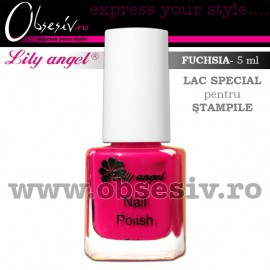 Lac Special Stampile Unghii Roz Mineral