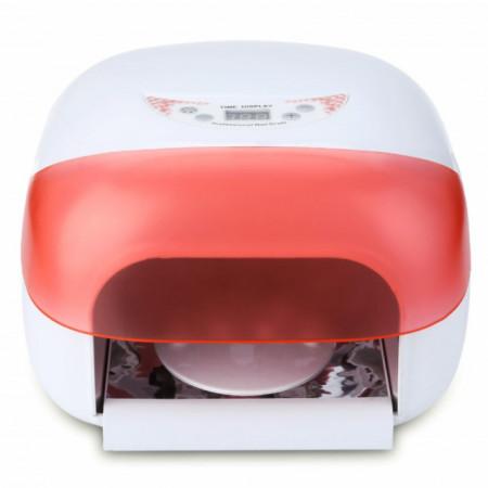 Lampa UV Digitala cu 4 Neoane Ventilator si Senzor, Putere 36 Watt