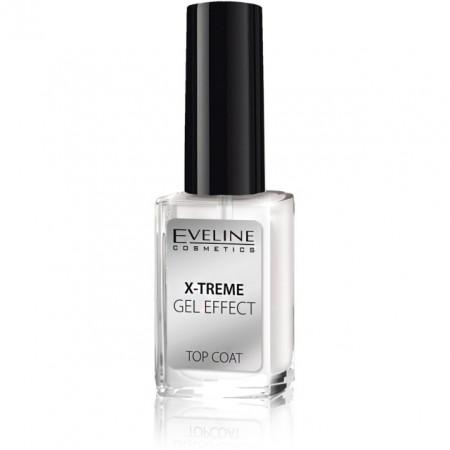 Tratament si Top Coat Luciu Eveline Cosmetics X-TREM Gel Effect