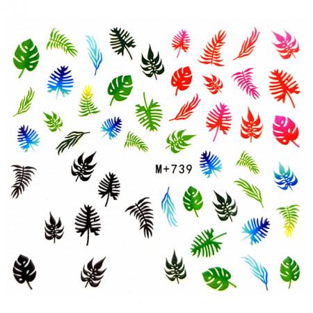 Abtibilde Unghii Motive Decorative 'Nature is our Second Nature' M+739, Stickere Unghii