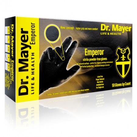 Manusi Examinare Texturate Nitril Nepudrate Emperor Dr Mayer 50 Buc