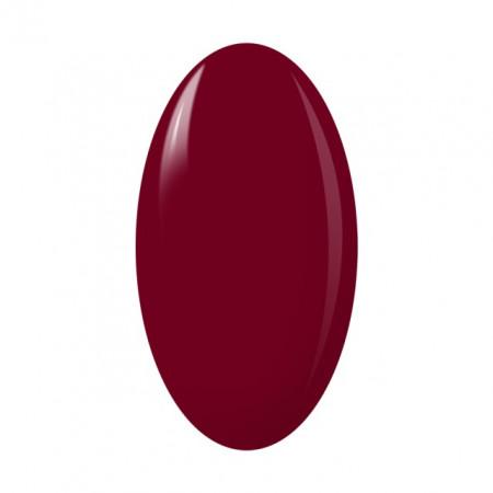 Oja Semipermanenta One Step Color, Exclusive Nails, Cod 8, Cantitate 5ml, Culoare Rosu Burgundy