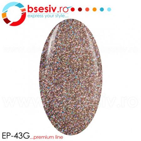 Gel Color Premium Line, Exclusive Nails, Cod EP43G