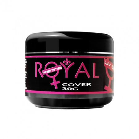 Gel UV Cover Royal Femme, Camuflaj Constructie, 30 ml