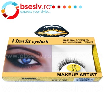 Poze Gene False Banda, Cod 3D/03, Vitoria Eyelash