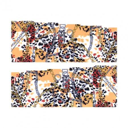 Stickere Unghii pe Bază de Apă, ANIMAL PRINT, Cod LR-2099 (Abtibilduri Unghii - Tatuaje Unghii - Nail Stickere - Water Nail Art)
