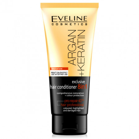 Balsam de Par Profesional Exclusiv  8in1 Radical Repair Technology™ Eveline Cosmetics