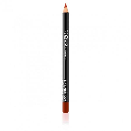 Creion Contur Buze Lip Liner Quiz Cosmetics No. 009
