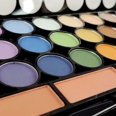 Paleta Machiaj Pleoape 28 Culori si Nuante Diferite, Meis Kit