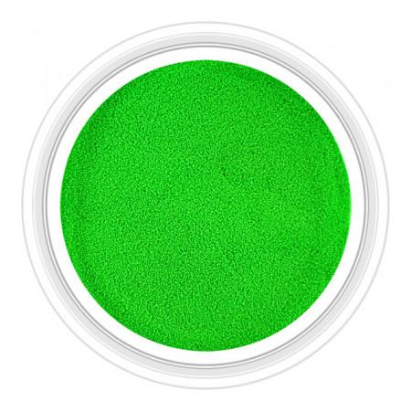 Pudra Acril si Gel Glow in Dark Verde Cod PAG-02G, Pudra Florescenta in Intuneric