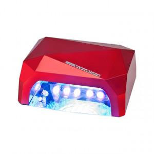 Lampa CCFL + LED 36 Watt, Lampa Profesionala Manichiura, Visiniu