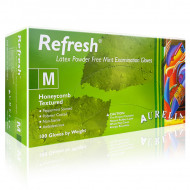 Manusi Latex Nepudrate Mentolate Aurelia® Refresh® 100 Buc