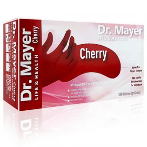 Manusi Nitril Nepudrate Rosii Cherry Dr. Mayer 100 Buc