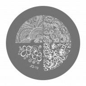 Matrite Stampile Unghii, Cod JQ-19, Accesorii Profesionale Manichiura