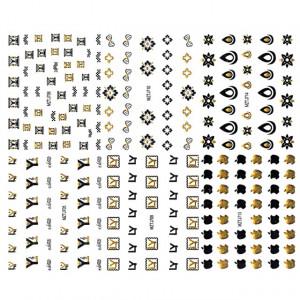 Stickere Unghii 6 Seturi - Abțibilde Colorate Unghii ( MZTJ705 - MZTJ706 - MZTJ709 - MZTJ710 - MZTJ713 - MZTJ714)