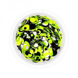 Confetti Unghii Multicolore Cod CU-VAN, Accesorii Nail Art