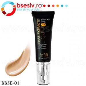 Fond De Ten Crema Cu Extract de Melc, Cod BBSE-01, Gramaj 50ml, Brand Baolishi, Blemish Balm Cream Snail Extract