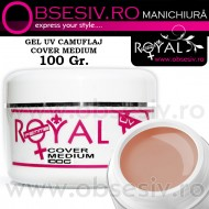 Gel Cover Medium - 100ml (Gel Camuflaj - Gel Constructie) - Royal Femme