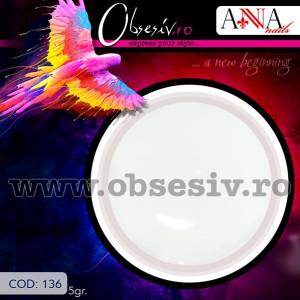 Geluri Colorate Anna Nails 136 - Gel Color UV Unghii