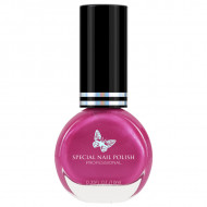Lac Special Stampile Unghii Roz Sidefat, OP10, 10ml