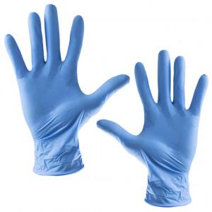 Manusi Examinare din Nitril Calitate Ridicata Albastre JBL Campllong 100 Buc