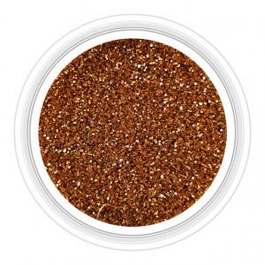 Sclipici Unghii Culoare Bronz Cod 15