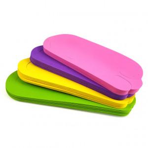 Slapi Unica Folosinta Pedichiura Set 12 Perechi 4 Culori Diferite