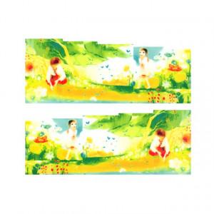 Stickere Unghii pe Bază de Apă, Model NATURA 02, Cod LR-780 (Abtibilduri Unghii - Tatuaje Unghii - Nail Stickere - Water Nail Art)