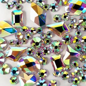 Cristale Unghii Marimi si Forme Diferite, Reflexii Multicolore