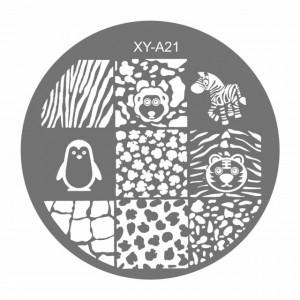 Matrite Stampile Unghii, Cod XY-A21, Accesorii Profesionale Manichiura